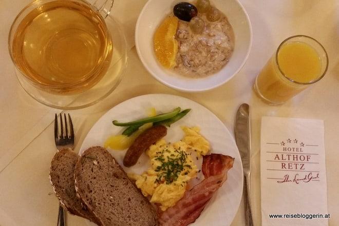 Frühstück im Althof Retz