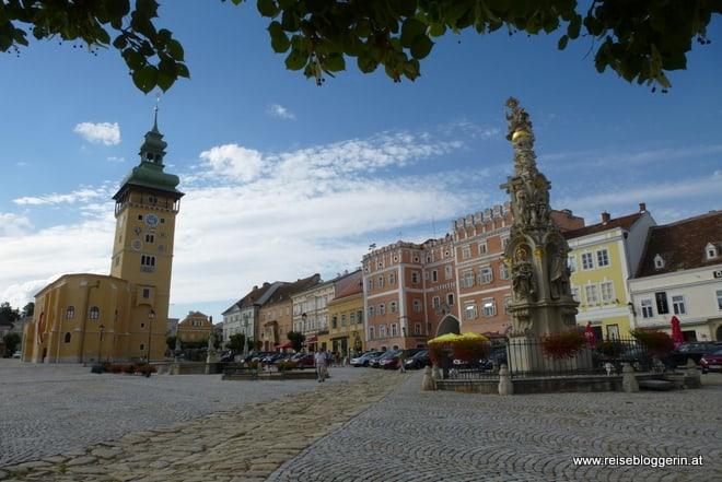 Hauptplatz in Retz