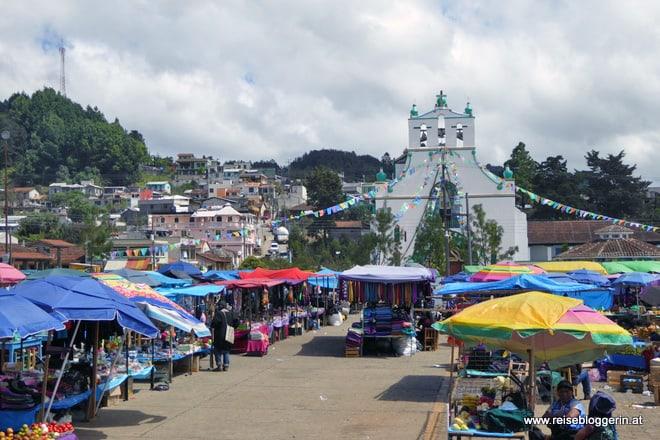 Markttag in Chamula