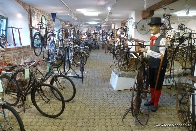 Fahrradmuseum in Retz