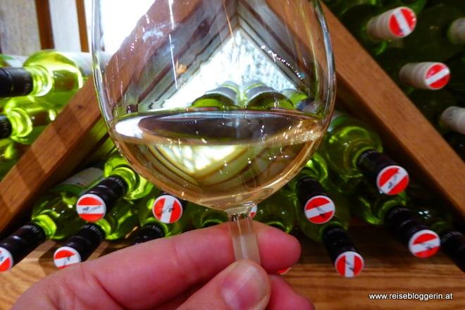 Weinprobe in der Gebietsvinothek