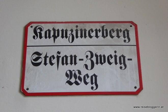 Kapuzinerberg und Stefan Zweig Weg