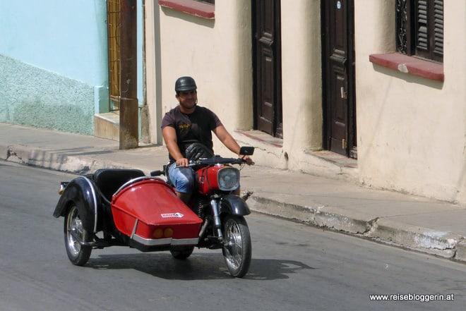 Beiwagen in Kuba