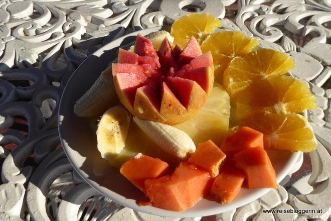 Frühstück in der Casa particular