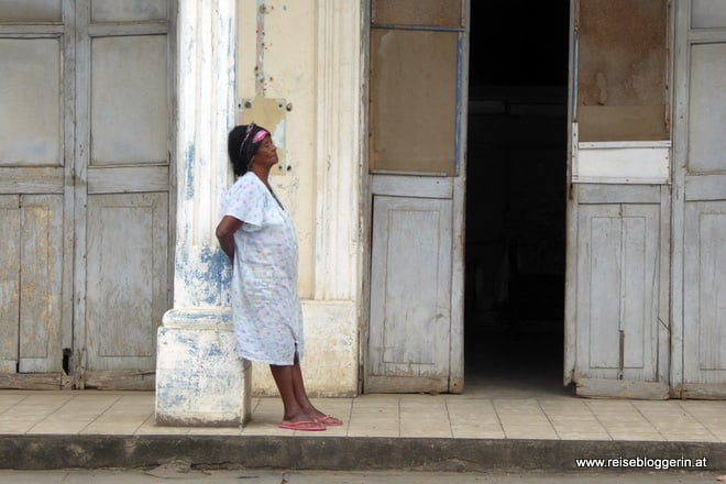 Straßenaufnahmen in Baracoa