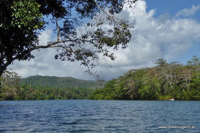 Bootsfahrt am Rio Tao