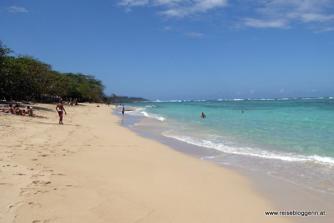 Westwärts zur Playa Maguana