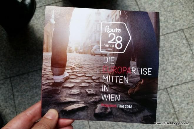Route 28 - Die Europareise mitten in Wien