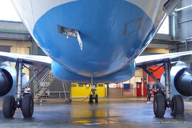 Flugzeugwerft Austrian Airlines