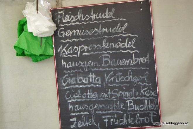Am Grünmarkt in Salzburg