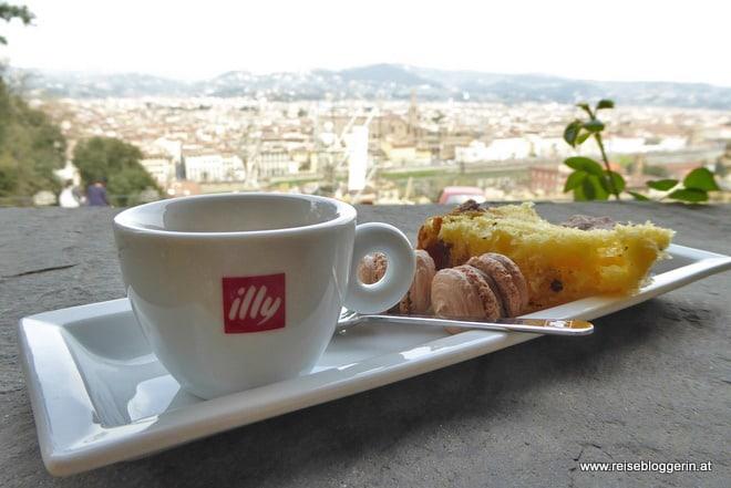 Kaffeehaus im Garten der Villa Bardini