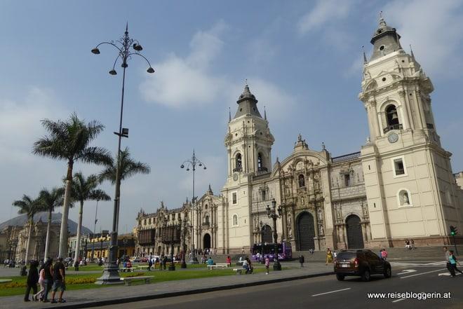 Die Kathedrale in Lima