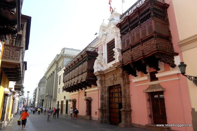 Kolonialstile in Lima