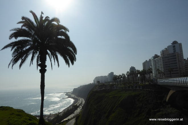 Die Küste von Lima