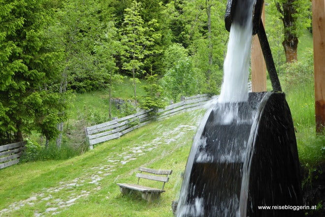 Mühlenweg in Maria Luggau