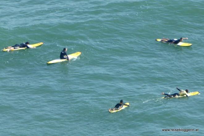Wellenreiten in Lima