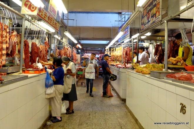 Zentralmarkt in Lima