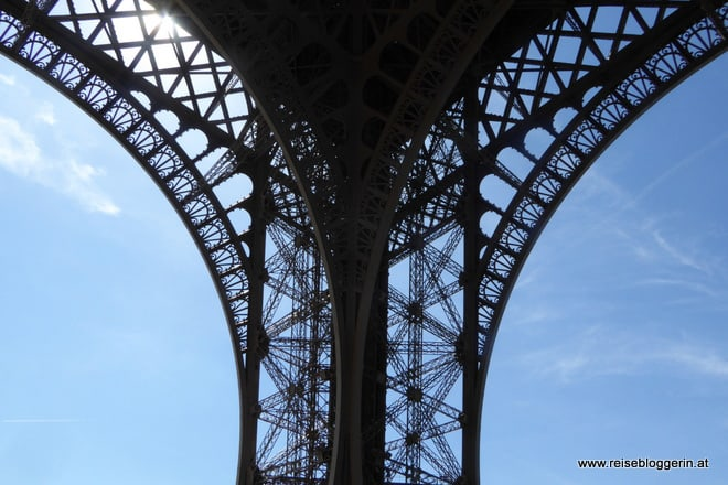 Detail vom Eiffelturm