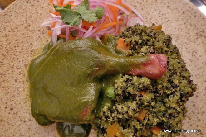 Ente mit Quinoa