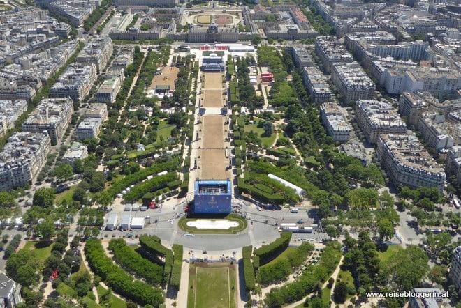 Fanmeile in Paris zu Fußballl-Europameisterschaft