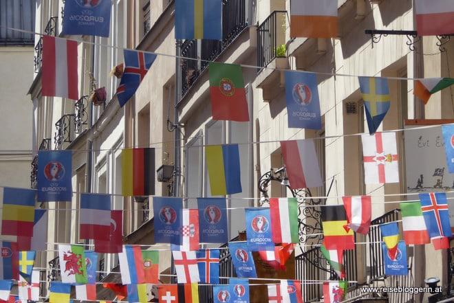 Fußball Europameisterschaft in Frankreich