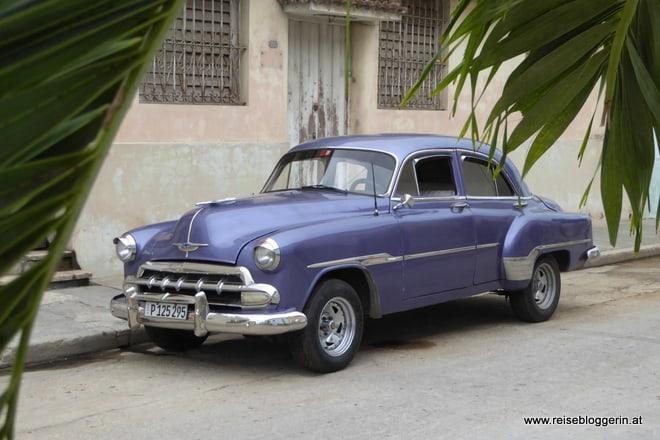 Oldtimer in Santiago de Cuba