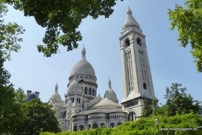 Paris und Sacre Coeur