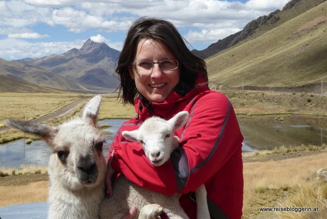Die Reisebloggerin Gudrun Krinzinger in Peru