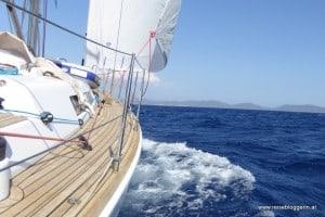 Segeln auf Sardinien