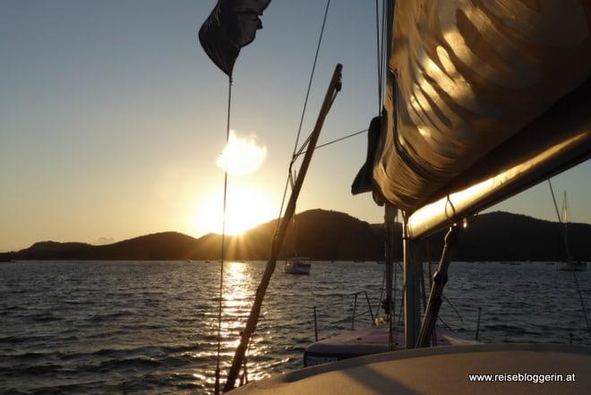 Sonnenuntergang auf Sardinien
