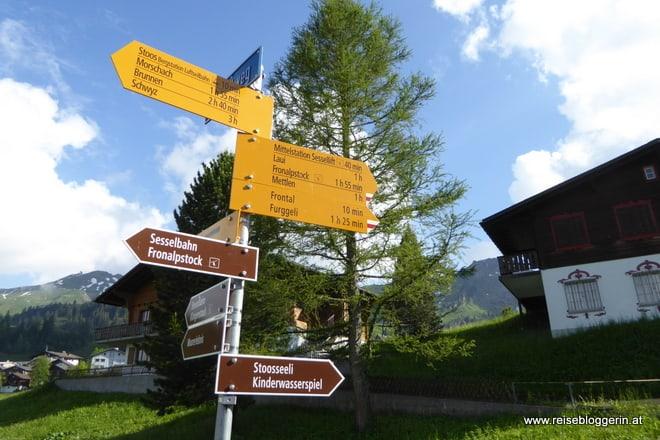 Wandern am Stoos