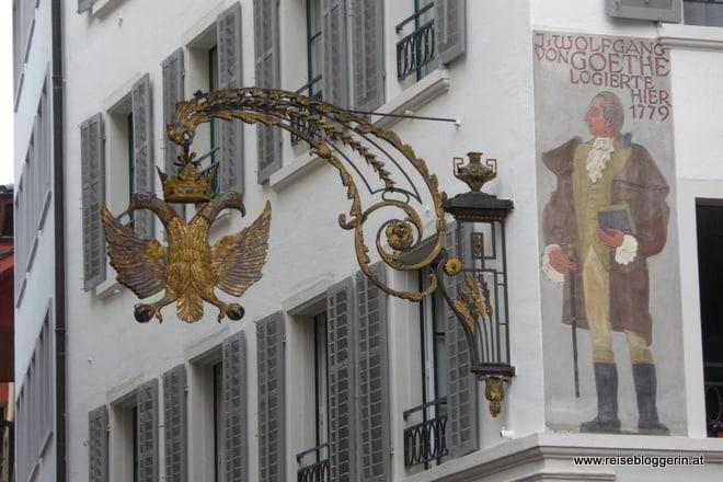 Goethe in Luzern