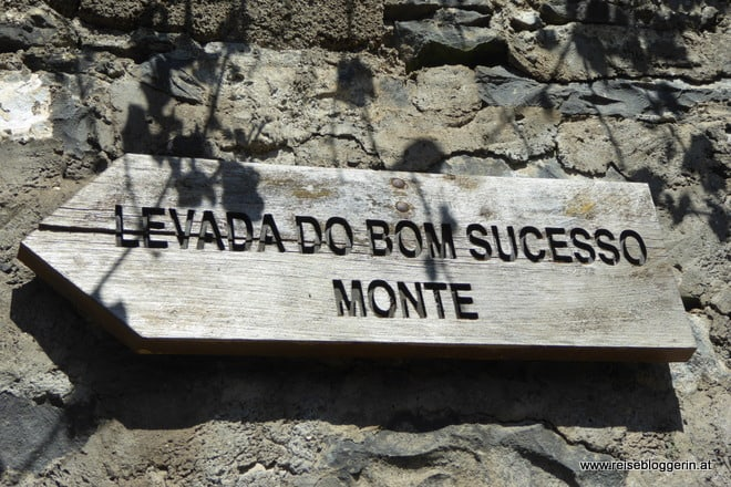 Levada do bom Sucesso Monte