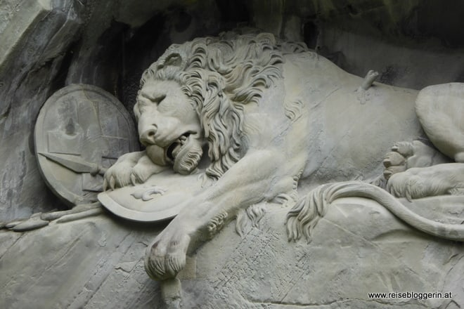 Löwe in Luzern