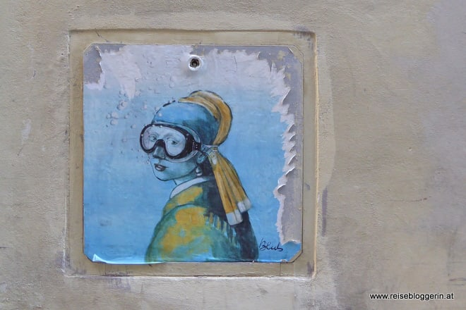 Blub StreetArt in Florenz