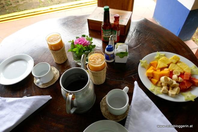 Typisches costaricanisches Frühstück