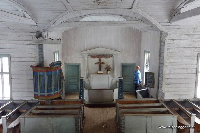 Holzkirche in Finnland