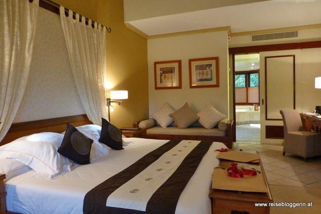 Hotelzimmer im Dinarobin auf Mauritius