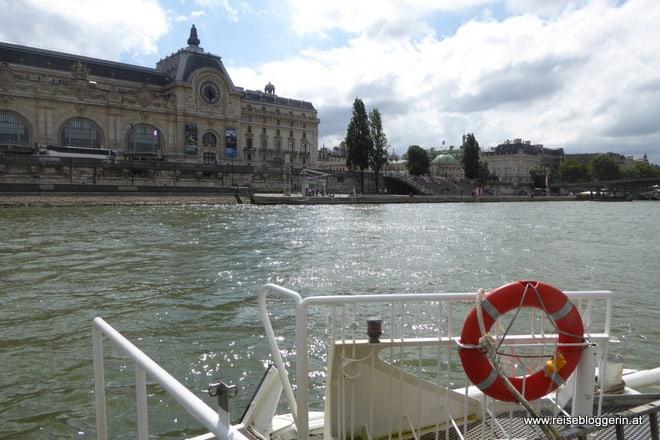 Paris mit dem Batobus entdecken