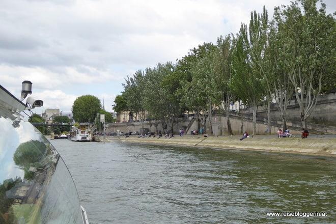 Das Ufer der Seine