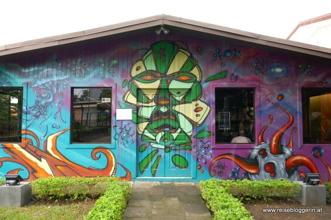 Streetart in Ciudad Colón
