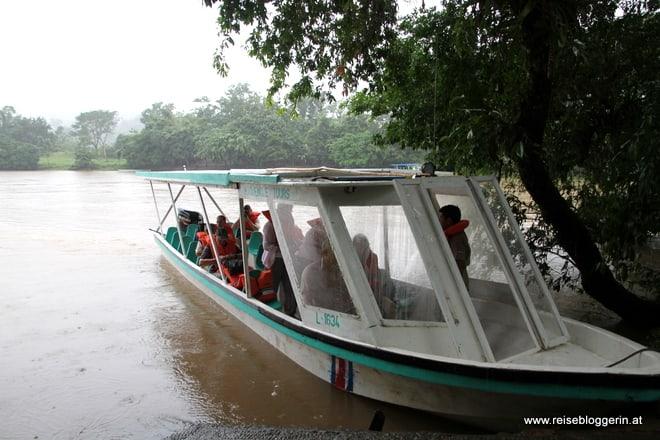 Bootsausflug nach Nicargua