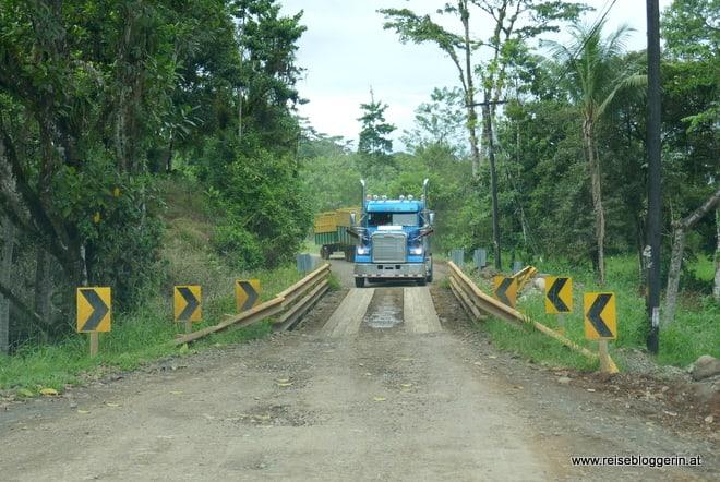 Schwerverkehr in Costa Rica