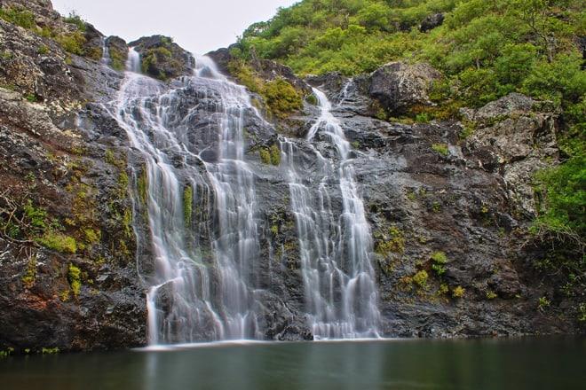Tamarin Wasserfälle auf Mauritius