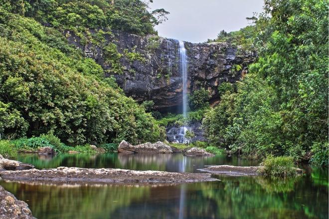 Wasserfälle Tamarin auf Mauritius