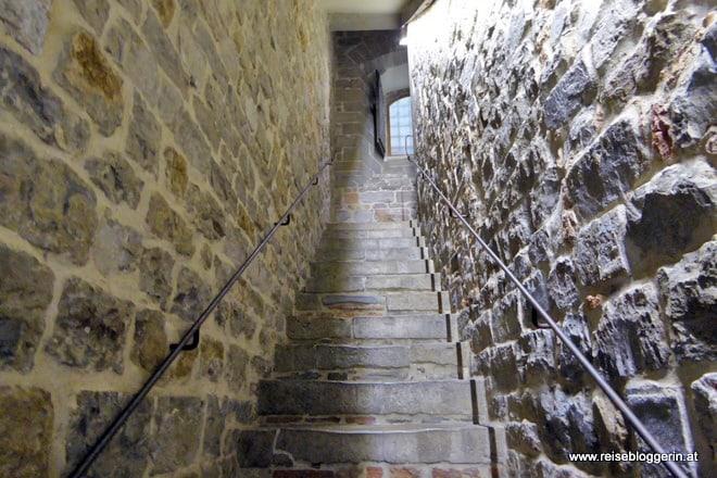Aufstieg auf den Torre Arnolfo