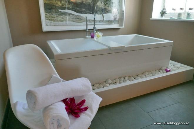 Raum für die Partnermassage im Romantik Hotel Gmachl