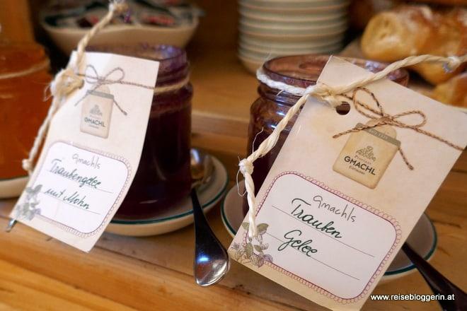 Selbstgemachte Marmeladen und Gelees