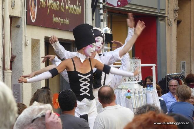 Straßenfest in Montpellier