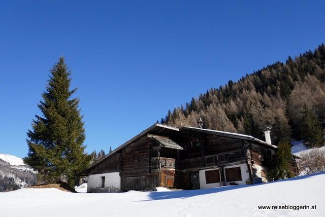 Almhütte im Obernbergtal